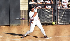 TIMES PHOTO: MATT SINGLEDECKER - Beaverton sophomore shortstop Kimaia Gassner hit a two-run homer against La Salle to help the Beavers get past the Falcons in non-league play.