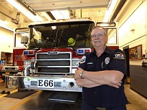 PAMPLIN MEDIA GROUP: RAY PITZ - After 35 years with Tualatin Valley Fire & Rescue (originally joining when it was the indendent Beaverton Fire Department), Brian Classen officially retires this Saturday.