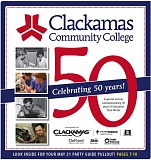 (Image is Clickable Link) Clacakamas Community College 50 Years