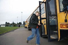 TIMES FILE PHOTO - The number of homeless students in the Tigard-Tualatin School District using special transit services has been on the rise.