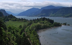 COURTESY PHOTO - The Columbia River Gorge, including Ruthton Point near Hood River, is only a short drive away for Portland-area residents.