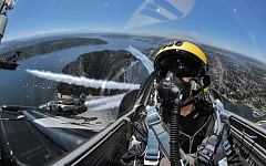 COURTESY PHOTO - The Breitling Jet Team is wrapping up its North American tour this year, and officials with the Oregon Air Show say its unclear when, if ever, the jet team will return to perform in Hillsboro.