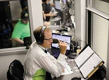 PAMPLIN MEDIA GROUP - Rich Burk, the voice of the Hillsboro Hops, has broadcast some Summer Olympics contests from a studio in Stamford, Conn.