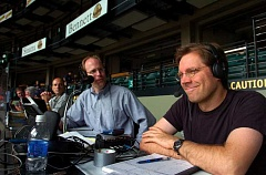 HILLSBORO TRIBUNE FILE PHOTO - Rich Burk of Hillsboro, left, the voice of the Hillsboro Hops, is calling some of the contests at the Summer Olympic Games in Rio de Janeiro, Brazil, from a studio in Stamford, Conn., this  week and next.