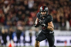 COURTESY: STANFORDPHOTO.COM - Running back Christian McCaffrey, a Heisman Trophy candidate, leads Stanford, the Pac-12 favorite.