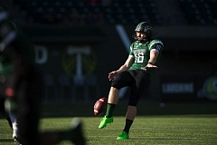 COURTESY: TROY WAYRYNEN - Australian Marcus Kinsella is back for his senior season as a punter for the Portland State Vikings.