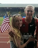 COURTESY: EVAN JAGER - Portland-based steeplechaser Evan Jager won an Olympic silver medal Wednesday at Rio de Janeiro.