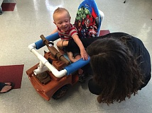 COURTESY PHOTO: PORTLAND STATE UNIVERSITY - A Go Baby Go clinic in Portland wants to modify toy cars for kids in Brazil.