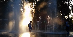 TIMES FILE PHOTO - A number of sites in Washington County are opening their doors to help area residents escape this week's heat, while the fountains at Beaverton City Park offer another chance to stay cool.