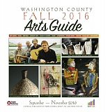 (Image is Clickable Link) Washington County Arts Guide Fall 2016