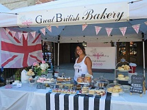 COURTESY PHOTO - Tash Lieb, who operates the Great British Bakery booth at the Forest Grove Farmers Market, says customer favorites include her shortbread and chocolate cake.