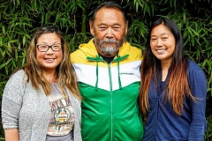 HILLSBORO TRIBUNE PHOTO: TRAVIS LOOSE - Theresa Iwaskai, left, Jim Iwasaki, and Julie Iwasaki-Tenorio are the third and fourth generation to run the 100 year old Iwasaki Brothers company in Hillsboro.