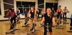 CONTRIBUTED PHOTO - Even if you can't get to your regular spin class, other fitness options abound during the holidays.