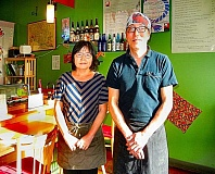 ELIZABETH USSHER GROFF - Yoshiharu Tanizawu, a/k/a Tani, and his wife Atzuko Tanizawa, have created sushi and Japanese dishes for Tanis Sushi Bar and Japanese Kitchen in Woodstock for many years.  Their tenure in the neighborhood is coming to an end.