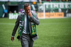 TRIBUNE FILE PHOTO: DIEGO G. DIAZ - The Portland Timbers and coach Caleb Porter depth and homegrown prospects in mind as the team tries to get back into the MLS playoffs.