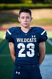 SUBMITTED PHOTOS: GREG ARTMAN - Wilsonville sophomore running back Cooper Mootz led the Wildcats in rushing despite suffering from a double aortic arch, which impairs his breathing.