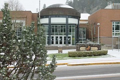 TIDINGS PHOTO: ANDREW KILSTROM - Schools were closed Thursday and Friday due to inclement weather.