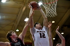 COURTESY: OREGON STATE UNIVERSITY - Drew Eubanks, a 6-10 sophomore from Reynolds High, is averaging nearly a double-double for Oregon State this season and shooting 61 percent from the field.