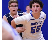 THE OUTLOOK: DAVID BALL - Open Door center Ivan Morales gets position on the block during a 53-34 loss to Country Christian on Monday.