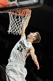 NEWS-TIMES PHOTO: CHASE ALLGOOD - Banks' Dalton Renne attempts a dunk versus Yamhill-Carlton at the MODA Center.