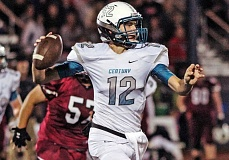 HILLSBORO TRIBUNE PHOTO: CHASE ALLGOOD - Kyle Chimienti was the Jaguars starting quarterback in each of the last two seasons.