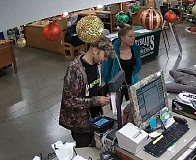 COURTESY PHOTO: OSP - This duo is suspected of thefts from several cars parked at Silver Falls State Park last month.
