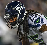 TRIBUNE PHOTO: MICHAEL WORKMAN - Seattle Seahawks cornerback Richard Sherman