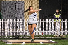 COURTESY: CHRISTOPHER OERTELL - McKenzie Warren of Concordia competes at the UW Preview in Seattle last week.