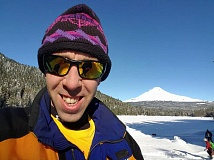 CONTRIBUTED PHOTO: SCOTT PESZNECKER - Writer Scott Pesznecker tried out snowshoeing for the first time with a trek around Trillium Lake.
