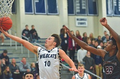 PMG PHOTO: COREY BUCHANAN - Wilsonville senior Zac Woodworth and the top-ranked Wildcats will be back in action tonight (Friday, Jan. 20) when they host No. 9 La Salle at 7:15 p.m.
