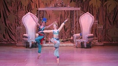 COURTESY OF PORTLAND BALLET - Wilson senior Lauren Kness (right) and Henry Winslow perform the Arabian Dance in 'The Nutcracker.' The duo's December performance in the Dominican Republic was part of a cross-cultural exchange between the Portland Ballet and Ballet Concierto Dominicano.