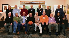 COURTESY: DAVE NISHITANI/OREGON STATE UNIVERSITY  - The 1965-66 Oregon State mens basketball team gathers for a reunion in Corvallis.