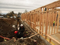 OUTLOOK PHOTO: JOSH KULLA - Farmington Square, an assisted living facility in Gresham, is adding a new memory care unit, which is expected to be completed by this summer.