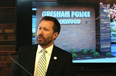 FILE PHOTO - Gresham Mayor Shane Bemis