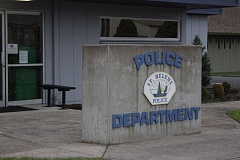 SPOTLIGHT FILE PHOTO - The St. Helens Police Department released its annual report this week indicating call volume, case load and items of interest for the 2016 calendar year.