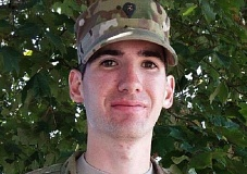COURTESY PHOTO: KOIN 6 NEWS - U.S. Army reservist Will Naugle was last seen Jan. 26 near Clackamas Town Center. His family said Naugle's body was found near Powell Butte in Crook County.