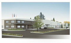 PHOTO COURTESY: WASHINGTON COUNTY SHERIFFS OFFICE - An artistic rendering of the new training facilitys exterior facade. The building is located at 600 S.W. Walnut St. in Hillsboro.