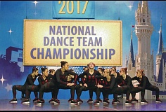 PHOTO COURTESY OF THE HAWKETTES - The dance squad, which consists of students from freshman through seniors, competed against the world at a tourney in Orlando.
