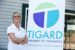FILE - Debi Mollahan, chief executive officer of the Tigard Chamber of Commerce, is encouraging community members to nominate deserving people and businesses for the annual Shining Stars awards.