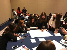 COURTESY OF TUALATIN TOGETHER - StandUp Tualatin students participate in a breakout session at the Community Anti-Drug Coalitions of America (CADCA) National Leadership Forum in Maryland last month.
