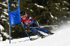 COURTESY MIKE JULIANA PHOTOGRAPHY - Lake Oswego's Nicole Danilevsky skied to victory in the giant slalom and also finished fourth in the girls combined standings.