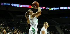 COURTESY: ERIC EVANS - Oregon's Sabrina Ionescu has earned national freshman player of the year honors from ESPNW.