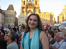 SUBMITTED PHOTO  - Oregon City author Hannah Gildea will read from her book Goulash Diaries: A Writers Adventures in Eastern Europe March 29 at Marys Woods. All are welcome to attend.