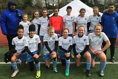 SUBMITTED PHOTO - The Southside Soccer Club 2004 team played its way into the finals of the Northwest Champions League tournament on March 4-5.