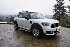 PORTLAND TRIBUNE: JEFF ZURSCHMEIDE - The new Countryman really is new — the only parts that are the same as the 2016 model are the wheel center caps, according to MINI. The new SUV is 9 inches longer and generally larger than its predecessor in most dimensions.
