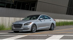 GENESIS AMERICA - The 2017 Genesis G80 is an attract midsize luxury sedan with a range of available engines and optional all-wheel-drive.