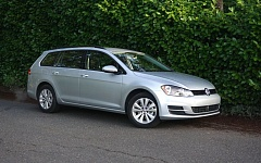 PORTLAND TRIBUNE: JEFF ZURSCHEIDE - With the 2017 Golf Sportwagen, you're getting a vehicle with all the utility of an SUV, but with the fuel economy and handling of a passenger car.
