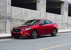 MAZDA MOTOR CORPORATION - The 'KODO: Soul of Motion' styling gives the 2017 Mazda6 beautifully fluid exterior lines, just like all of the company's other vehicles.