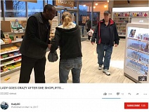 (Image is Clickable Link) KODY YOUMANS/KODYXO - An incident between a Rite Aid employee and an alleged shoplifter has sparked a viral video that has been viewed more than 30,000 times. Newspapers across the globe have covered the incident.