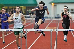 PMG FILE PHOTO - Lake Oswego senior Carter Bracken is back to lead the Lakers after winning Three Rivers League titles in both the high and intermediate hurdles last year.